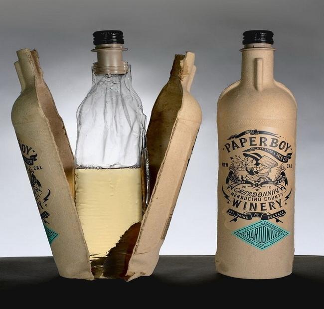 用紙代玻璃 喝酒更環保